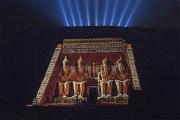 ABOU SIMBEL ILLUMINE EGYPTE