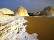 DESERT BLANC LE CAIRE EGYPE