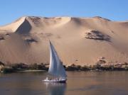 DUNE FELOUQUE ASSOUAN EGYPTE