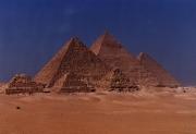 PLATEAU DE GHIZE LE CAIRE EGYPTE